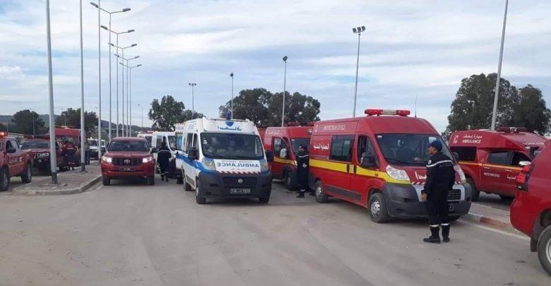 Tunisie: Trois blessés de l'accident de Amdoun quittent l'hôpital