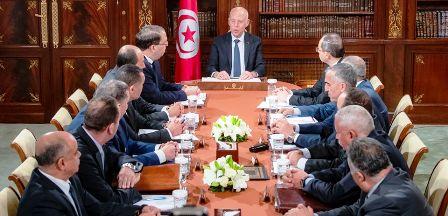 Tunisie – Réunion de crise entre Kaïs Saïed et les dirigeants sécuritaires du pays