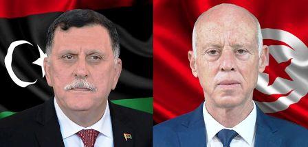Tunisie – Fayez Sarraj présente ses condoléances à Kaïs Saïed