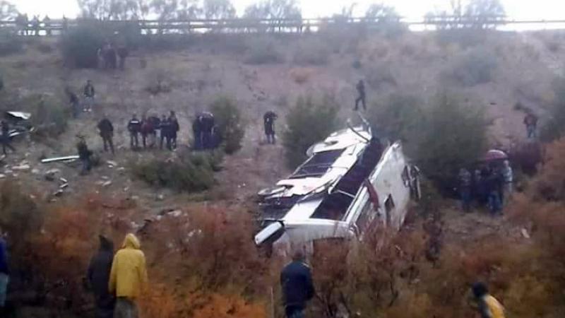Un accident d'autocar fait 17 morts — Maroc