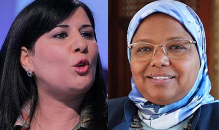 Tunisie: Rached Ghannouchi sert de médiateur entre Abir Moussi et Jamila Ksiksi