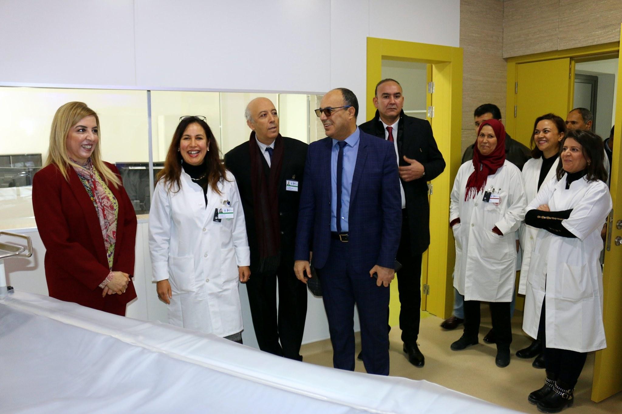 Tunisie :[photos] Lancement de l'exploitation du scanner à l'hôpital Habib Thameur
