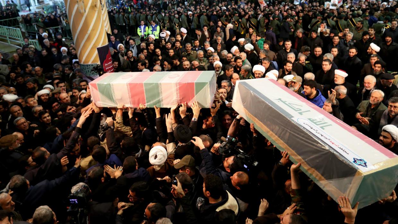 Iran: près d'une trentaine de morts lors des funérailles du général Soleimani