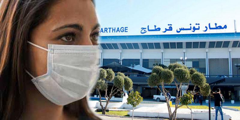 Tunisie: Coronavirus, l'aéroport Tunis-Carthage sous contrôle sanitaire