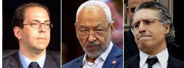 Tunisie – Ennahdha aux abois après une deuxième réunion entre Karoui et Chahed