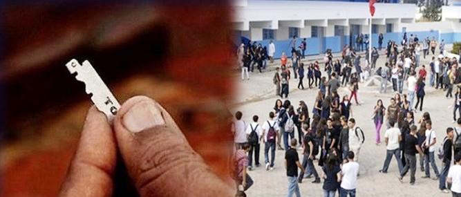 Journée banale en Tunisie – 2- Un élève agresse le directeur de son collège avec une la me de rasoir