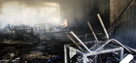 Tunisie – La Chebba: Un deuxième incendie ravage le collège en 20 jours
