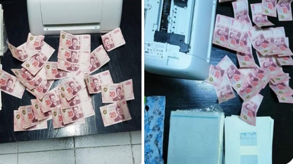 Tunisie: Interpellation d'une femme à la tête d'un gang de faussaires en possession de billets de 20 dinars