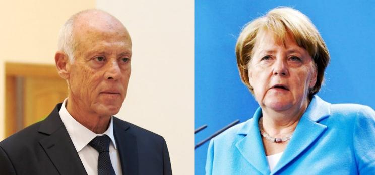 Tunisie – Angela Merckel s'excuse auprès de Kaïs Saïed