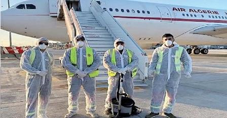 Les dix tunisiens rapatriés de Chine par Air Algérie seront maintenus en quarantaine