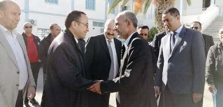 Tunisie – Mohamed Hamdi en visite à Kasserine
