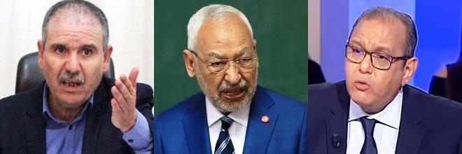 Tunisie – Après Kaïs Saïed, Tabboubi et Majoul s'entretiennent avec Rached Ghannouchi