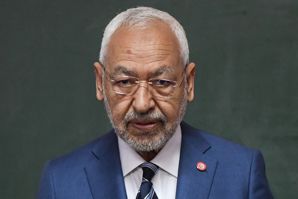 Tunisie : Ghannouchi aurait l'intention de se présenter pour un nouveau mandat, Harouni répond