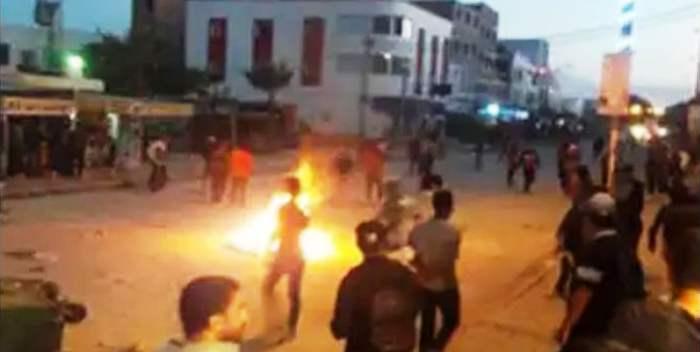 Tunisie – Bizerte: Affrontements entre citoyens et forces de l'ordre à cause de l'inhumation d'une victime du corona