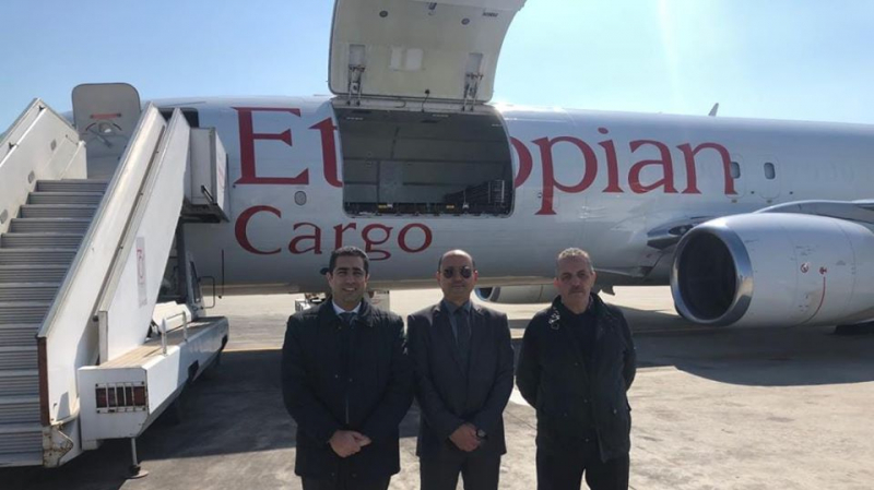 Tunisie: Arrivée à l'aéroport de Tunis-carthage d'une cargaison d'aides médicales en provenance de l'Ethiopie