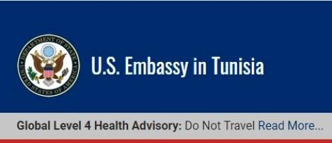 Les USA organisent l'évacuation de leurs ressortissants de Tunisie