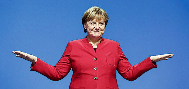 Angela Merkel sort du confinement