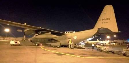 Tunisie – Un avion militaire rapatrie 56 tunisiens bloqués à Londres
