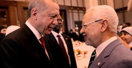 Tunisie – Erdogan coordonne avec Ghannouchi pour «lutter contre le covid»