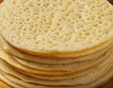 Recette : Ghrayef au miel