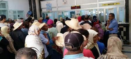 Tunisie – Contamination d'un agent de la poste cause de l'afflux des usagers