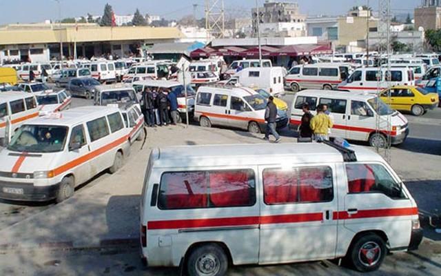 """Tunisie: Les conducteurs des taxis """"Louage"""" boycottent le transport des élèves et professeurs"""