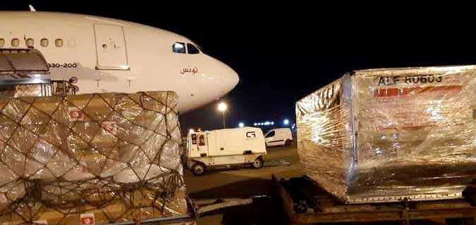 Tunisie – Un avion de Tunisair quitte la Chine chargé de produits médicaux