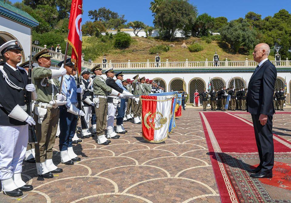Tunisie [photos] : Célébration du 64e anniversaire de la création de l'armée nationale