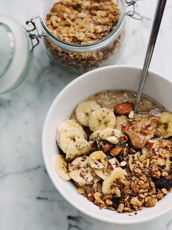 Recette :  Granola aux fruits secs
