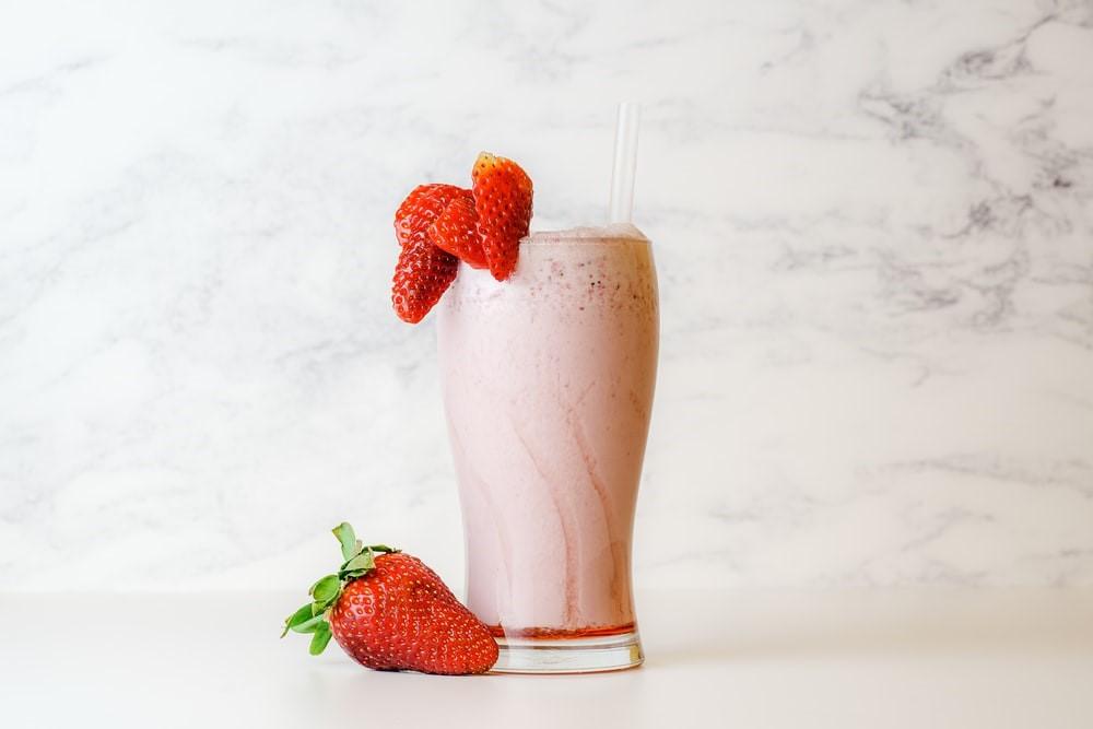 Recette : Smoothie aux fraises