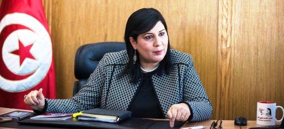 """Tunisie: Abir Moussi """"Le bureau du Parlement soutient la violence et lui fournit les moyens pour subsister"""""""
