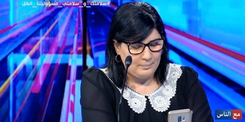 """Tunisie:""""Abir Moussi qualifie l'alliance entre le mouvement Ennahdha, Qalb Tounes et la coalition el Karama de front de la honte"""""""