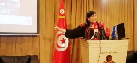 Tunisie – VIDEO: Abir Moussi accuse Samia Abbou et Becher Chebbi de fomenter un complot contre elle