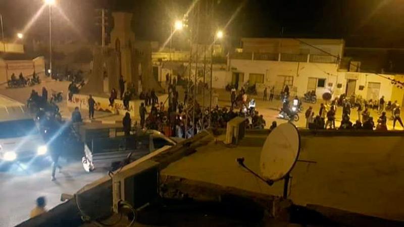 Tunisie: Calme à Douz après une nuit agitée en solidarité avec Tataouine