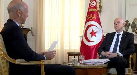 AUDIO: Kaïs Saïed: Des parties tunisiennes ont œuvré pour faciliter une ingérence étrangère en Tunisie