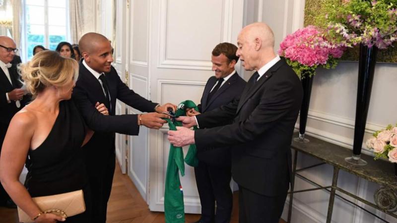France : Un joueurchambreWahbiKhazriaprès sa rencontre avec Emmanuel Macron
