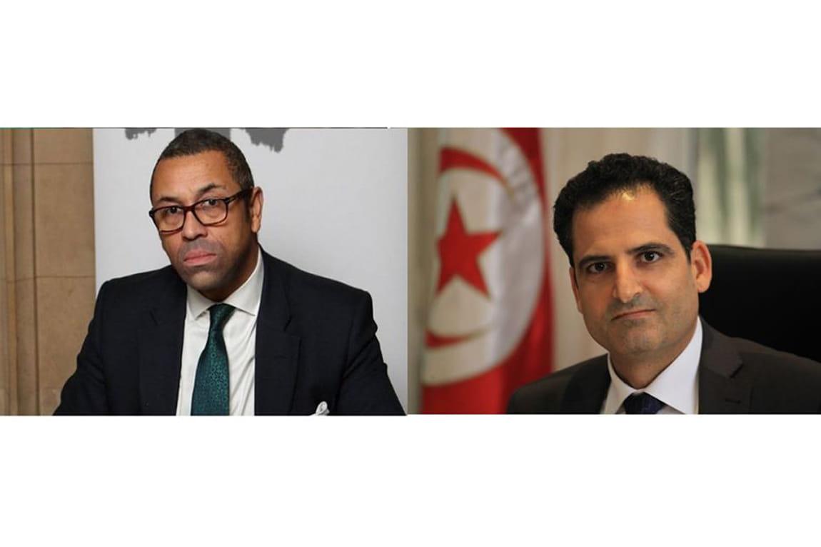Tunisie: Noureddine Erray reçoit un appel téléphonique du ministre d'Etat britanique pour le Moyen Orient et l'Afrique du Nord