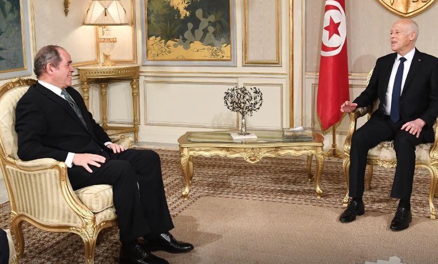 Tunisie : Kais Saïed reçoit le ministre algérien des Affaires étrangères