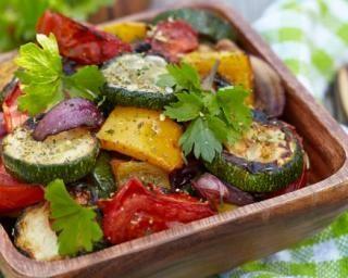 Recette :  Légumes au four à l'italienne