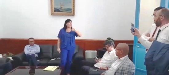 Tunisie – Abir Moussi et des députés du PDL séquestrés au bureau de Habib Khedher