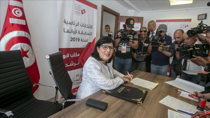Tunisie: Un nouveau sondage d'opinion place le PDL d'Abir Moussi en tête des intentions de vote