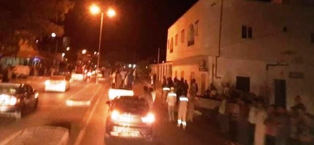 Tunisie – Des habitants de Remada en sit in près du poste frontalier de Dhehiba