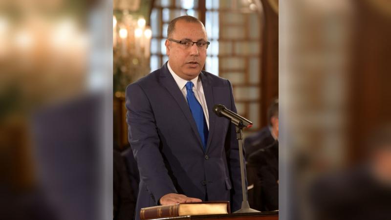 Tunisie : Hichem Mechichi reçoit, Noureddine Arbaoui du mouvement Ennahdha