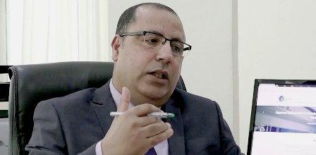 Tunisie : Hichem Mechichi reçoit Hsouna Nasfi