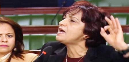 Tunisie – Samia Abbou: La place des menteurs est en dehors de cette assemblée!