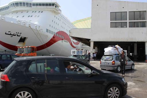 """Tunisie : 2000 voyageurs arrivent aujourd'hui en Tunisie à bord du navire """"Tanit"""""""