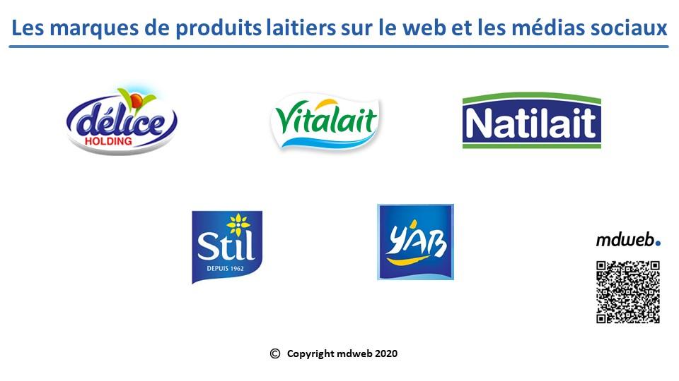 Les marques Tunisiennes de produits laitiers et les médias sociaux : Vitalait encore numéro 1 sur le Web en Juin 2020