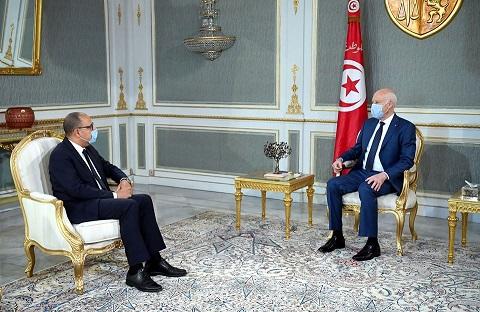 Tunisie: Consultations sur la formation du gouvernement, Hichem Mechichi informe Kaïs Saïed de l'évolution de la situation