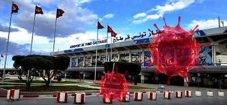 Tunisie – L'aéroport de Tunis Carthage se transforme en foyer de Covid19?