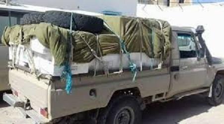 Tunisie: Saisie d'un camion transportant des marchandises de contrebande dont 2000 paires de chaussures sport